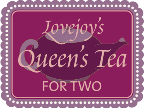Queen's Tea for Two $58.95 + 8.5% tax