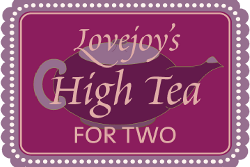 High Tea for Two $44.95 + 8.5% tax