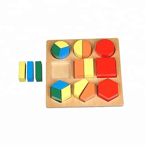 Geometric Shape Tray