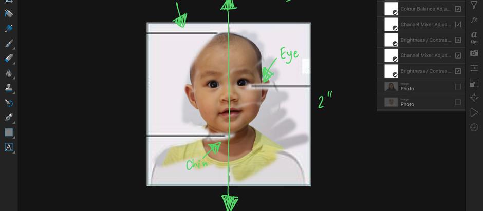 Tips: เทคนิคการถ่ายรูปเด็กทารกเพื่อสมัครวีซ่าอเมริกา ทำได้เองง่ายๆที่บ้าน