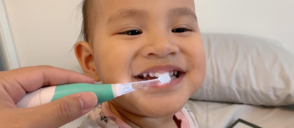 Review: รีวิวแปรงสีฟันไฟฟ้าสำหรับเด็ก - Aidee Electric Toothbrush