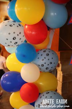 Арка от балони 2