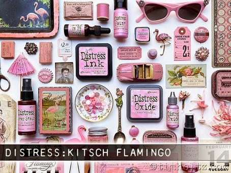 Нов дистрес цвят - Кич Фламинго / Kitsch Flamingo
