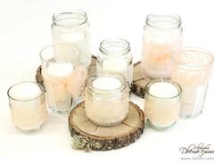 свещи в буркани