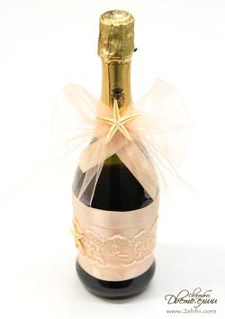 декорация на шампанско