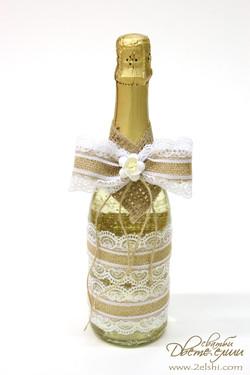 Украса на шампанско