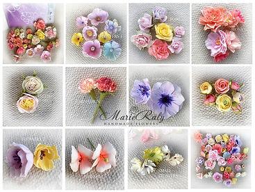 Малки цветя от фоумиран 2