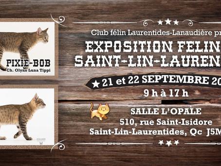 EXPOSITION ST-LIN-LAURENTIDES 2019