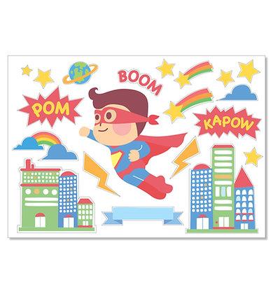 IRON-ON STICKER ( SUPERMAN )