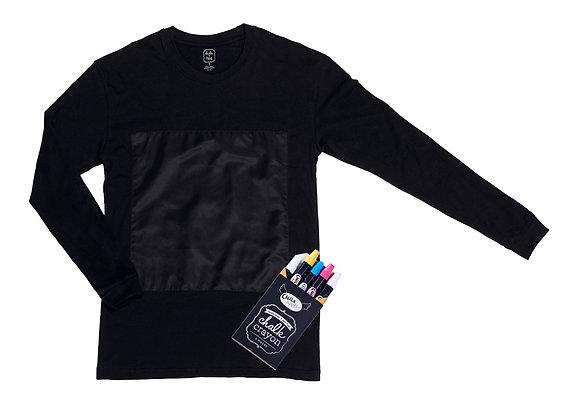 Long Sleeves ( Black )