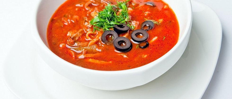 Суп солянка сборная