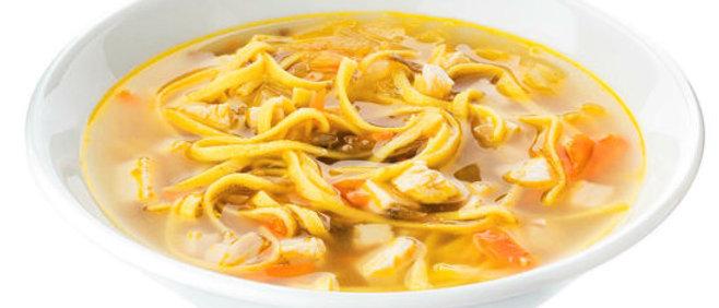 Куринный суп с лапшой