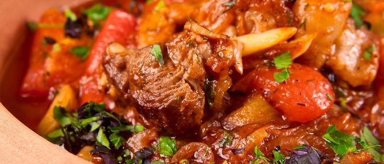 Мясо по-кавказский
