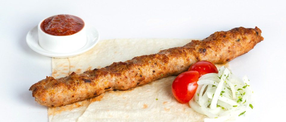 Люля кебаб из свинины и телятины