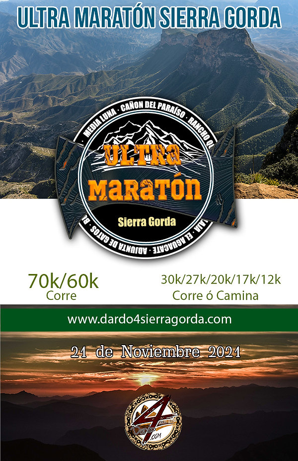tabloide ultra maraton sierra gorda 2021
