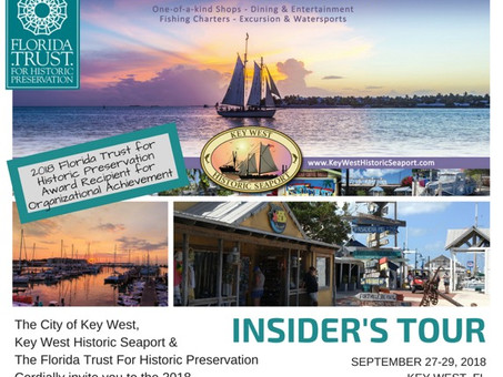 Announcing the Insider's Tour: Key West this September
