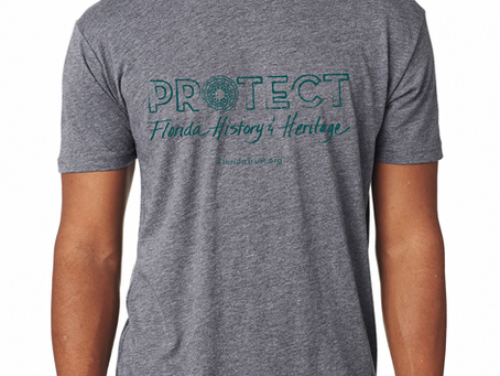 Florida Trust for Historic Preservation T-Shirts - Now Available