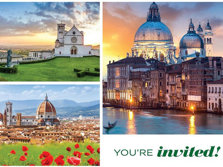 Rescheduled for 2021: Join the Florida Trust for an Unforgettable Trip to Italy