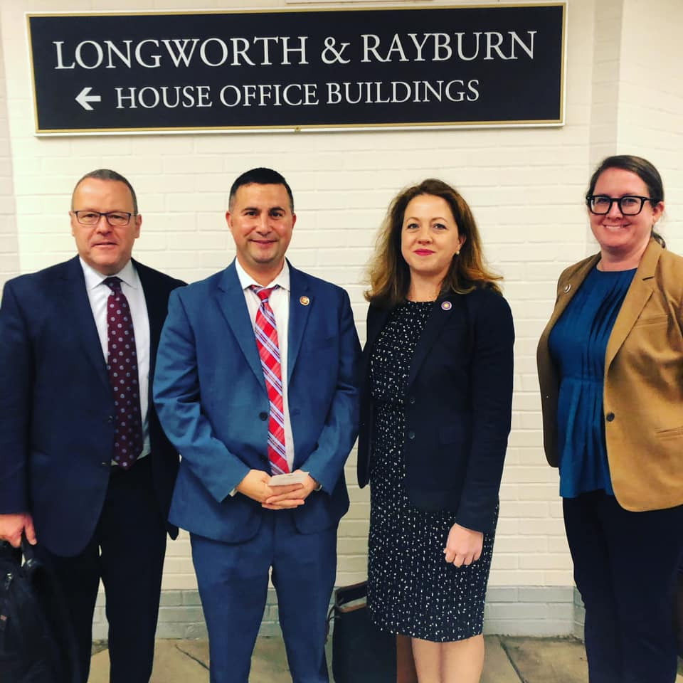 2020 Florida Trust Advocacy Team meets with Congressman Soto in Washington, D.C.