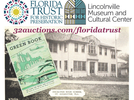 Charity Auction: Support the Florida Trust's Fundraiser for the Lincolnville Museum