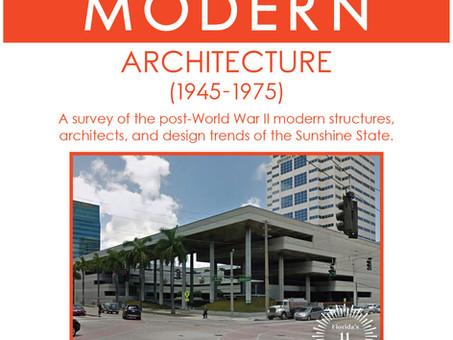 Florida Trust for Historic Preservation Announces First Mid-Century Modern Workshop in Fort Lauderda