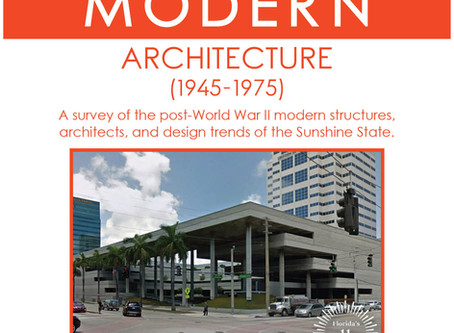 Florida Trust for Historic Preservation Announces First Mid-Century Modern Workshop in Fort Lauderda