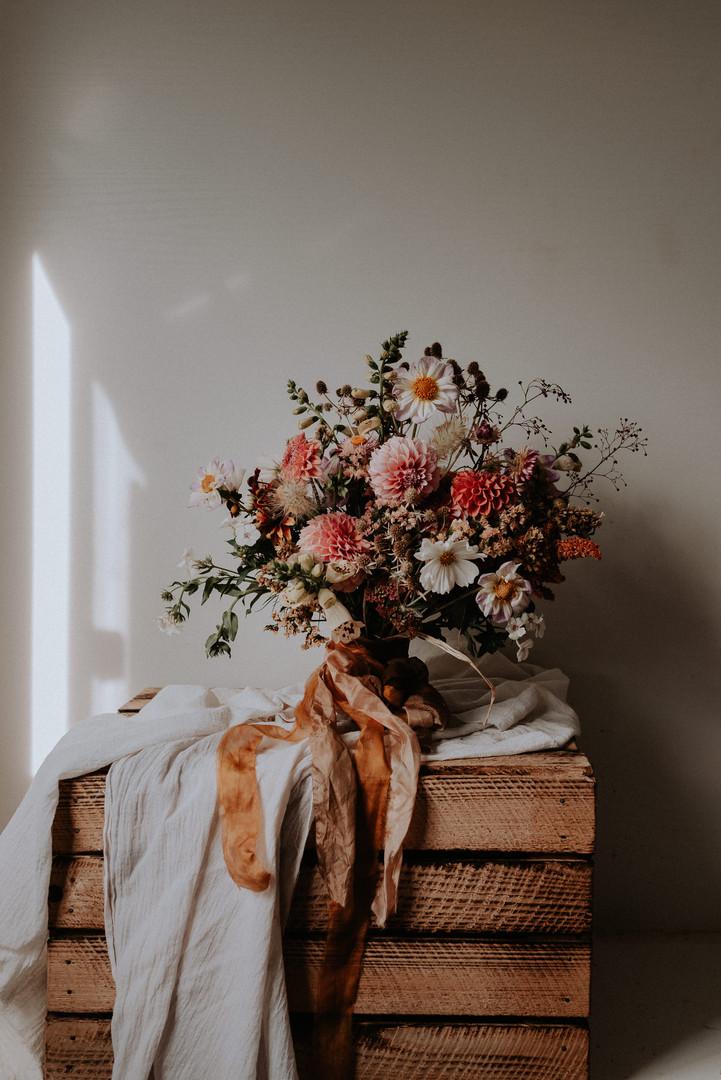 herbstlicher Brautstrauss