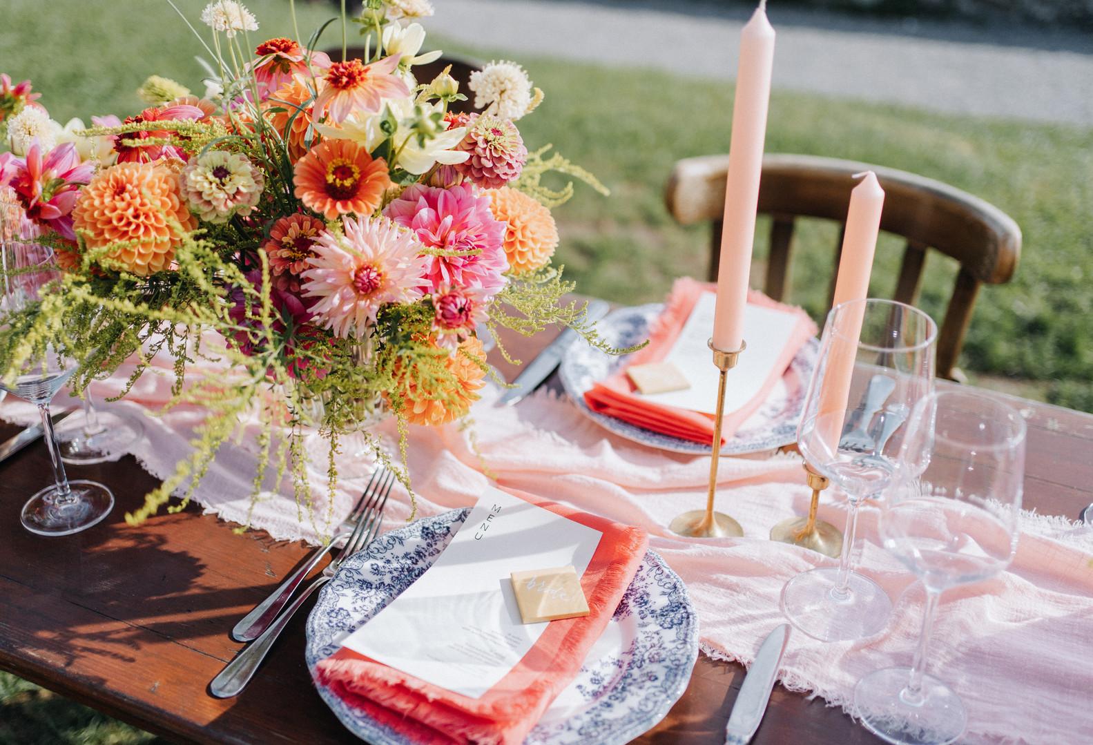 Table Arrangement Sommer