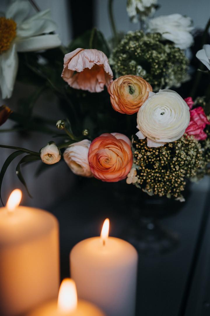 Blumen-Deko