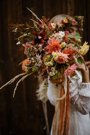 Herbst-Brautstrauss