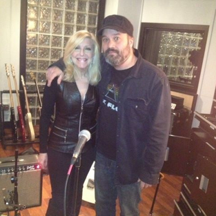 Laury and guitarist Scott Tipping