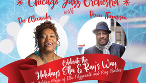 CJO Holiday Concert featuring the music of Ella Fitzgerald and Ray Charles Dec 20th!