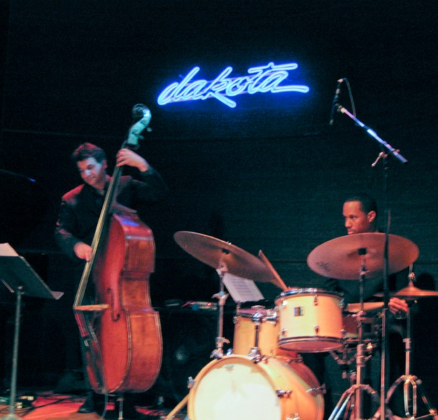 Performing with Laury and Michele Legrand, bassist John Patitucci, and drummer Willie Jone III in Minneapolis, MN.