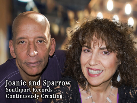 March 2019 - Feature Interview: Joanie & Sparrow  - Continuously Creating
