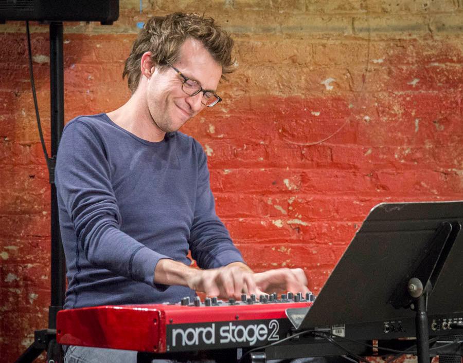 Paul Mutzabaugh performing at the JRAC