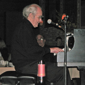 Grammy and Oscar winning composer Michele Legrand at the Dakota jazz club in Minneapolis, MN.