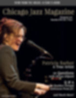 Chicago Jazz Magazine Cover Patricia Bar