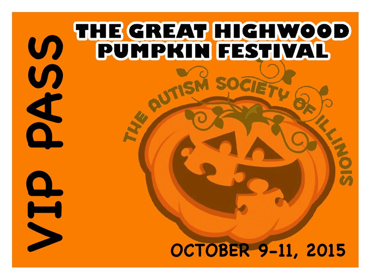 Highwood Pumpkin Festival Lanyard