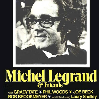 Poster for Michele Legrand concert, at the St Regis hotel in the Maisonette Room in NY.