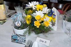 Floral Arrangement and Favor