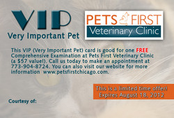 Pets First VIP Cards
