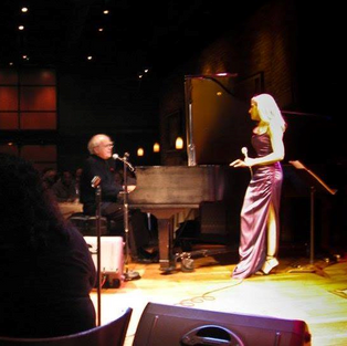 Laury performing with Michele Legrand at the famous Dakota jazz club in Minnapolic, MN.