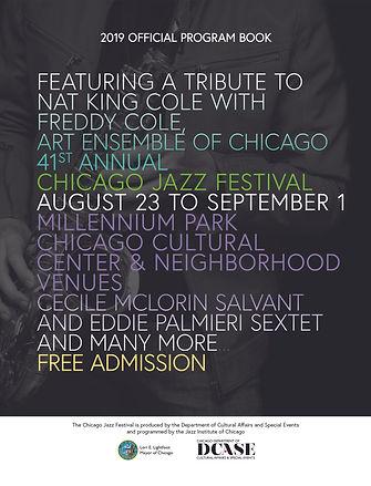 Official Chicago Jazz Festival Program