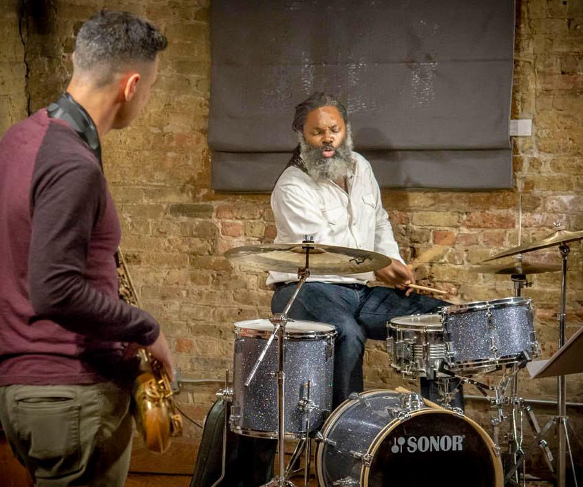 Dana Hall - Drums