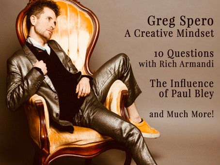April 2019 - Feature Interview: Greg Spero