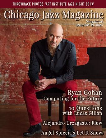 Chicago Jazz Magazine 01 2019 Ryan Cohan
