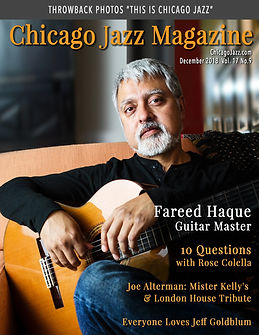 Chicago Jazz Magazine Dec 2018 Fareed Ha