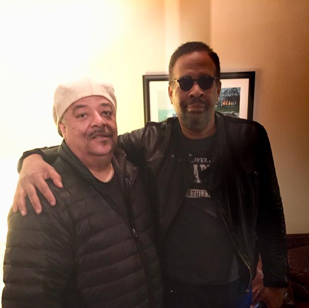 Frank with Stanley Clark.jpeg