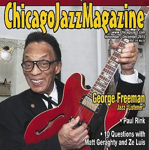 Chicago Jazz Magazine Cover
