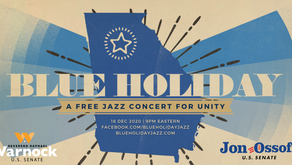 Blue Holiday Jazz with host Kurt Elling: A Free Jazz Concert to Support Raphael Warnock & Jon Ossoff